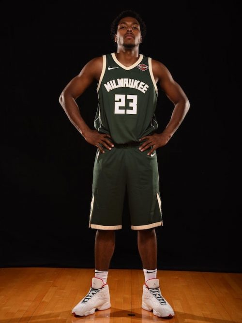 Sterling Brown shoes