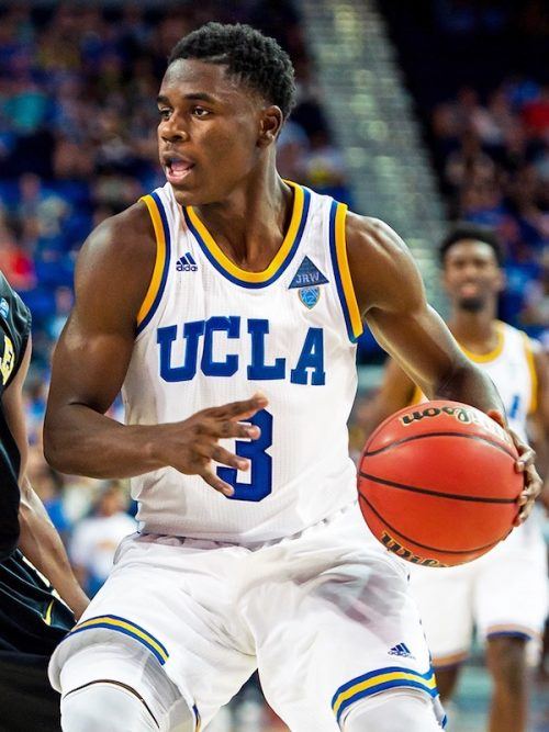 Aaron Holiday shoes